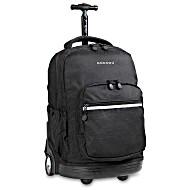 Универсальный школьный рюкзак на колесах JWORLD Sunrise арт. RBS18 Черный
