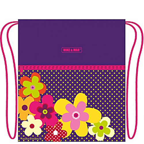 Мешок для обуви Mike&Mar Майк Мар Цветы M171