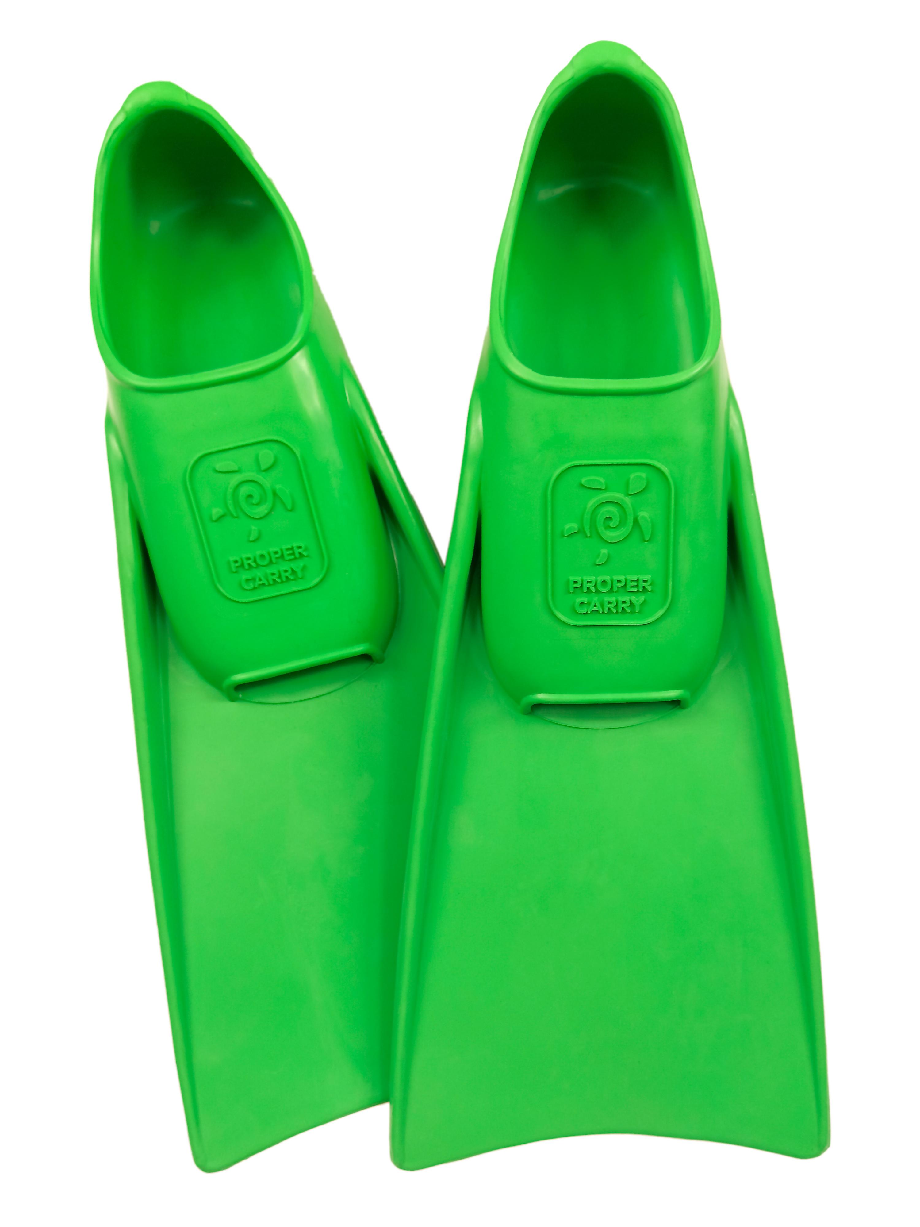 Грудничковые каучуковые ласты для плавания ProperCarry Super Elastic очень маленькие размеры 21-22, 23-24, 25-26, 27-28, 29-30, - фото 1